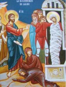 Isus si invierea lui Lazar
