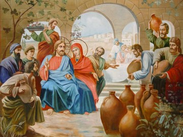 Nunta din Cana Galileii - Isus, mama lui Iisus