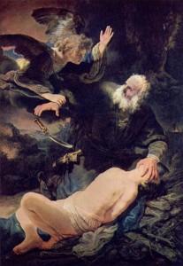 Avraam - sacrificiu - jertfa